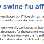 How Swine Flu affected our IT