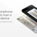 Smartphone displaying healthy io urine testing app