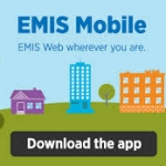 EMIS Mobile advert