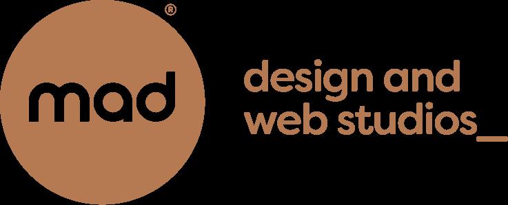 mad design and web studios logo