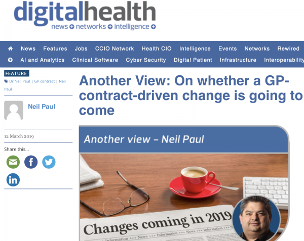 Another View: On whether a GP-contract-driven change is going to come