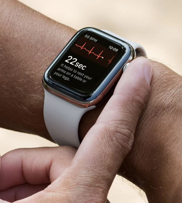 Apple's iWatch now does ECGs in the UK