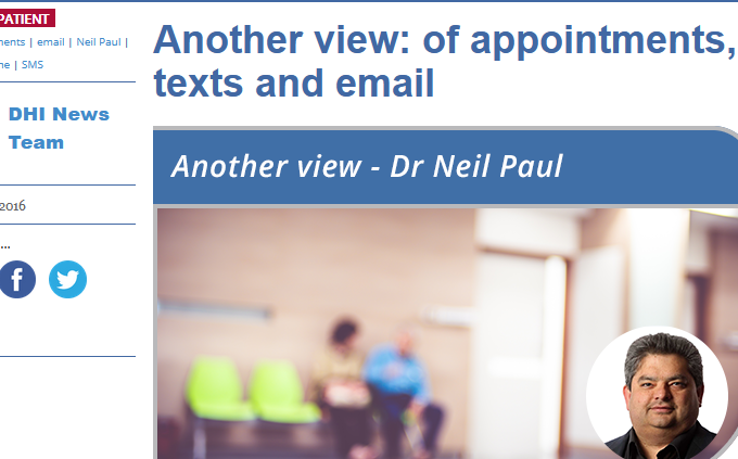 of Appointments, Texts and Email