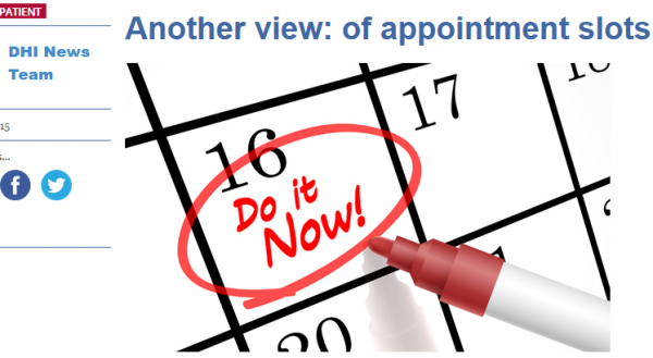 of Appointment Slots