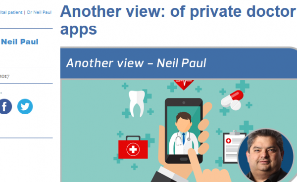 Of Private Doctor Apps
