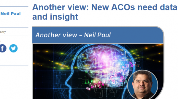 New ACO's need Data and Insight