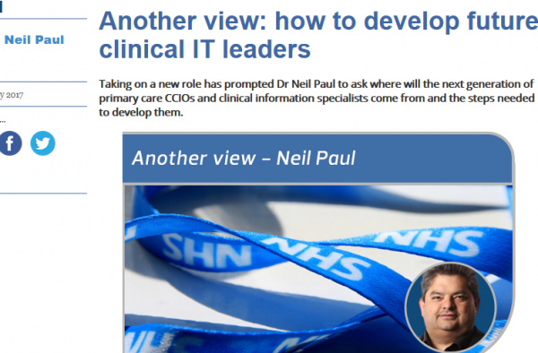 How to Develop future Clinical IT Leaders