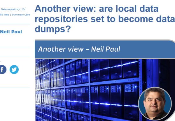 Are Local Data Repositories set to become Data dumps?