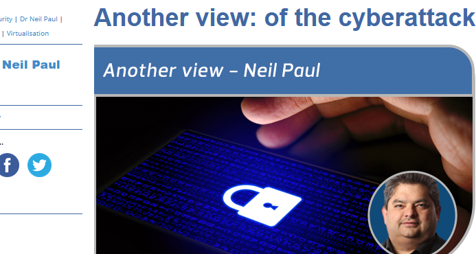 Of the Cyberattack