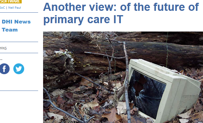 of the Future of Primary Care IT