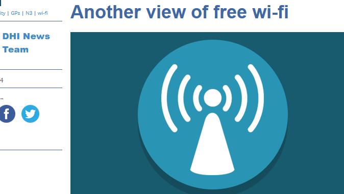 of Free Wi-Fi