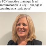 My local PCN Manager shares her advice