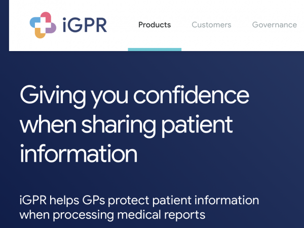iGPR Update