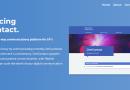 Screenshot of OneContacts website