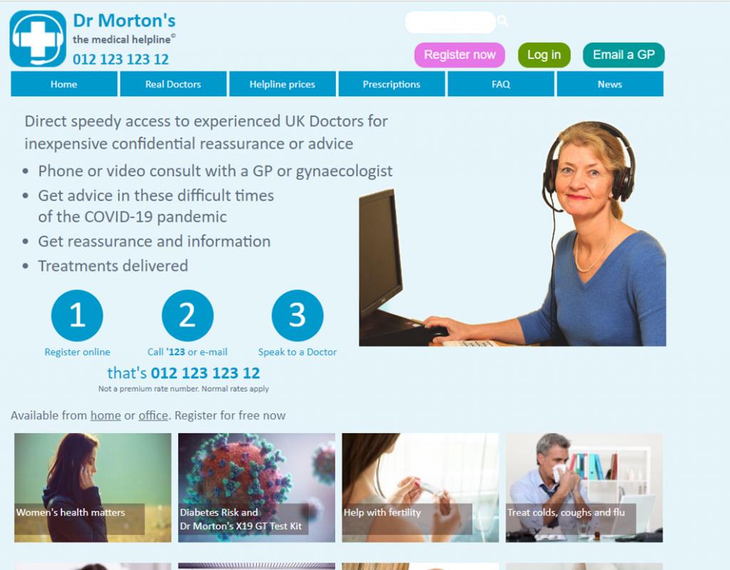 Dr Moreton Screenshot