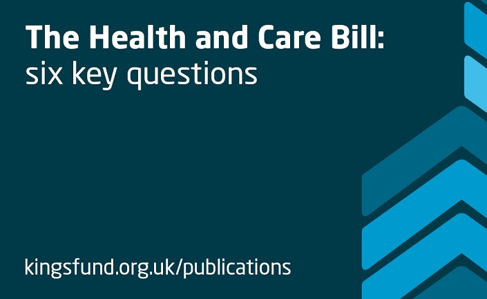 The Health and Care Bill Banner