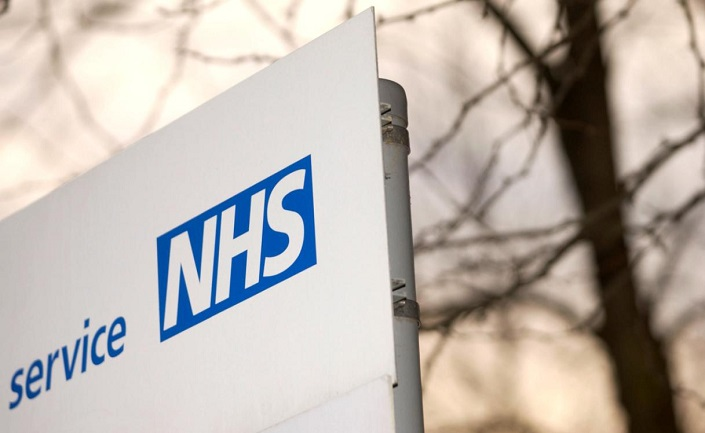 NHS sign outside a building